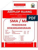Sampul Amplop Sol Try Out