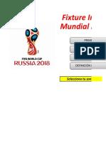 Fixture Mundial - Javier Ferragut