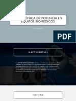Electrónica de Potencia en Equipos Biomédicos