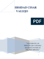 Variables Macroeconomicas Peru