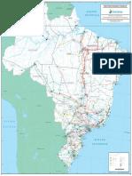 Mapa Do Sistema Eletrico Brasileiro Configuracao 2021