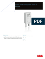 ABB 2016-06 DATASHEET Function Modules for Pluggable Interface Relays