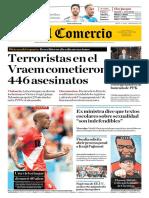 Diario de Los Quispe Palomino 27JUN18 El Comercio