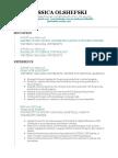 jolshefski resume-2018