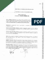 Documento de constituição