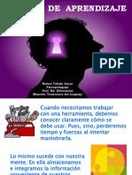 PPT charla sobre Estilos de Aprendizaje