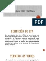 Fecundacion in Vitro y Bioetica