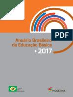 Anuario Brasileiro Da Educacao Basica 2017 Com Marcadores