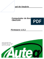 Manual CBA3200  1.0.2