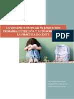 Tfg Violencia Escolar Agresividad Violencia Factores Riesgo