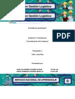 Evidencia 1 Presentación Caracterización de La Empresa 4197667