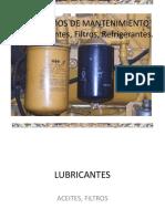 Curso Insumos de Mantenimiento Lubricantes Filtros Refrigerantes