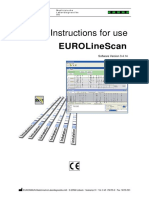 Manual EUROLineScan
