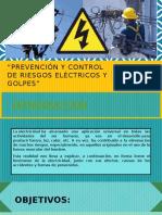 Prevención y Control de Riesgos Eléctricos y