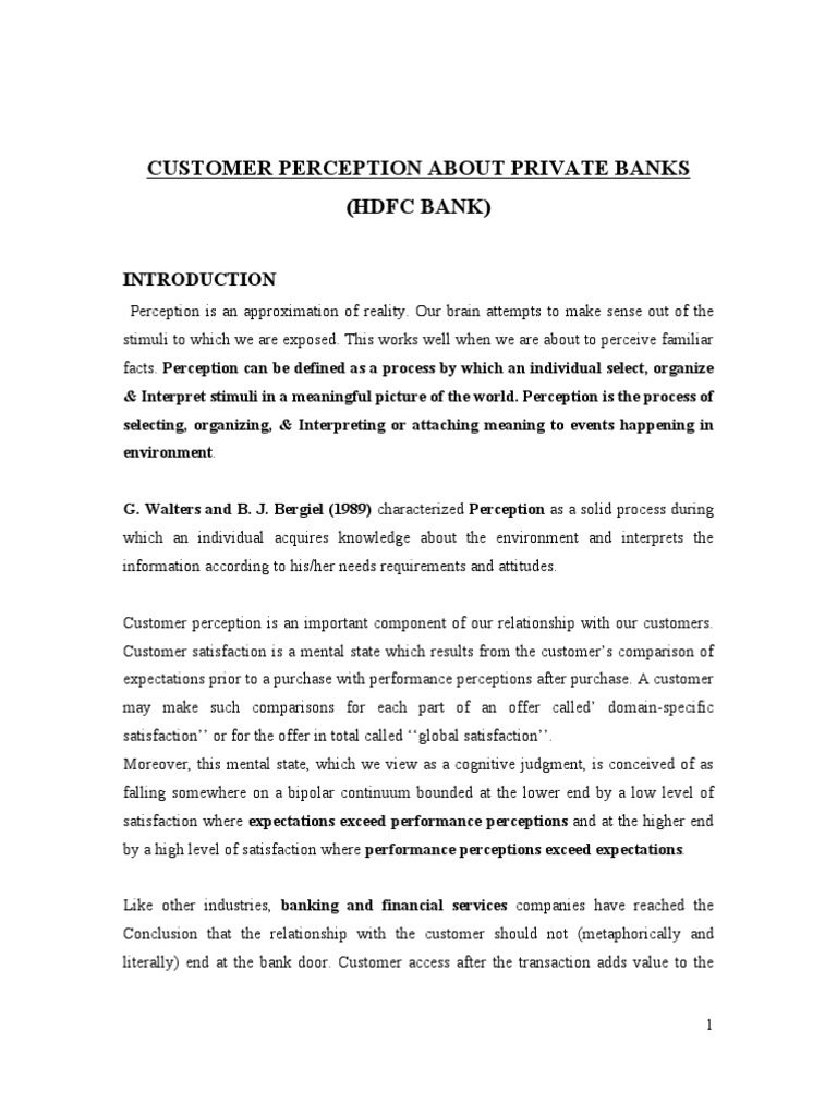 literature review on customer service in banks