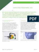 Datasheet-Top Enhancements Creo Parametric 4-En