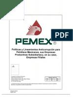 Politicas y Lineamientos Anticorrupcion 20170911