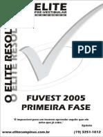 Fuvest 05 Fase1 ELITE