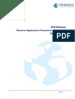 TAFJ R18 Release Notes