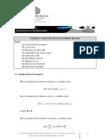 Unidad I. Conjunto de Los Números Reales. Guía Teórica (I.M.U. 2017)
