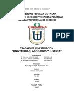 Universidad Abogados y Justicia
