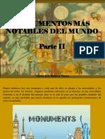 Carlos Erik Malpica Flores - Monumentos Más Notables Del Mundo, Parte II