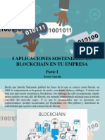 Nestor Chayelle - 5 Aplicaciones Sostenibles de Blockchain en Tu Empresa, Parte I