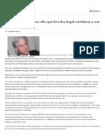 Ex-diretor Da Enron Diz Que Brecha Legal Continua a Ser Usada
