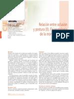 Relacion Oclusion Postura 2