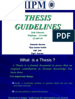 Thesis Guidelines SS 2007-09