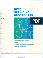 Hvac Servicing Procedures Handbook