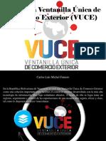 Carlos Luis Michel Fumero - Conoce La Ventanilla Única de Comercio Exterior (VUCE)