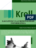 Ramiro Francisco Helmeyer Quevedo - Las Leyes y La Criminalidad Informática