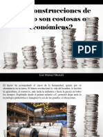 José Manuel Mustafá - ¿Las Construcciones de Hierro Son Costosas o Económicas?