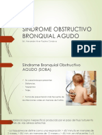 Sindrome Obstructivo Bronquial Agudo Pediatria