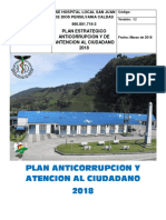 Plan Anticorrupcion 2018