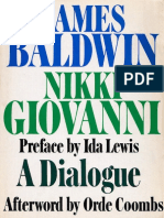 Baldwin, James - Dialogue With Nikki Giovanni (Lippincott, 1973)