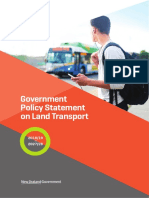 Government Policy Statement on Land Transport 2018