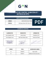 8.1.- IT(CSC-PE).06.4.02-01 Procedimiento de Control, Almacenaje y Entrega de Epps