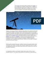 La Astronomia