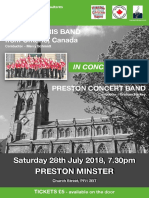 Concert 28th July Ayrs Paris Band and Preston Concert Band