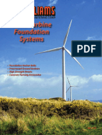Wind Turbine Foundation Systems
