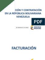Temas de Facturación y Contratación Venezuela