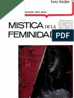 Betty Friedan - La mistica de la feminidad.pdf