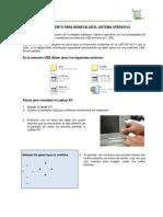 Manual de Activacion y Reinstalacion de La Laptop XO 250610