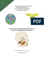 Montaje de Modelos de Yeso en Un Articulador Bioart 2012