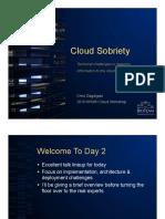 Cloud Sobriety