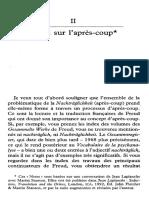 Notes Jean Laplanche