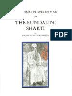 The Primal Power in Man or the Kundalini Shakti - Swami Narayanananda