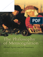 Proust - PhilosophyMetacognition